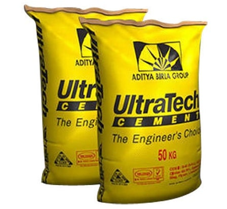 UltraTech Cement bags